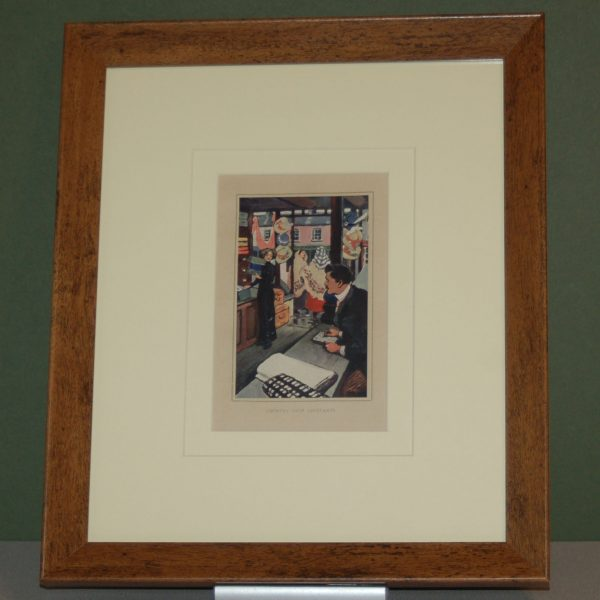 Jack B Yeats 1913 Print for sale
