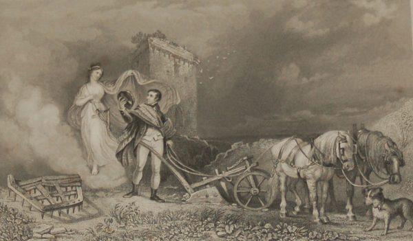 The Genius of poetry 1840 engraving