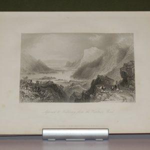 William Bartlett print Killarney, Ireland