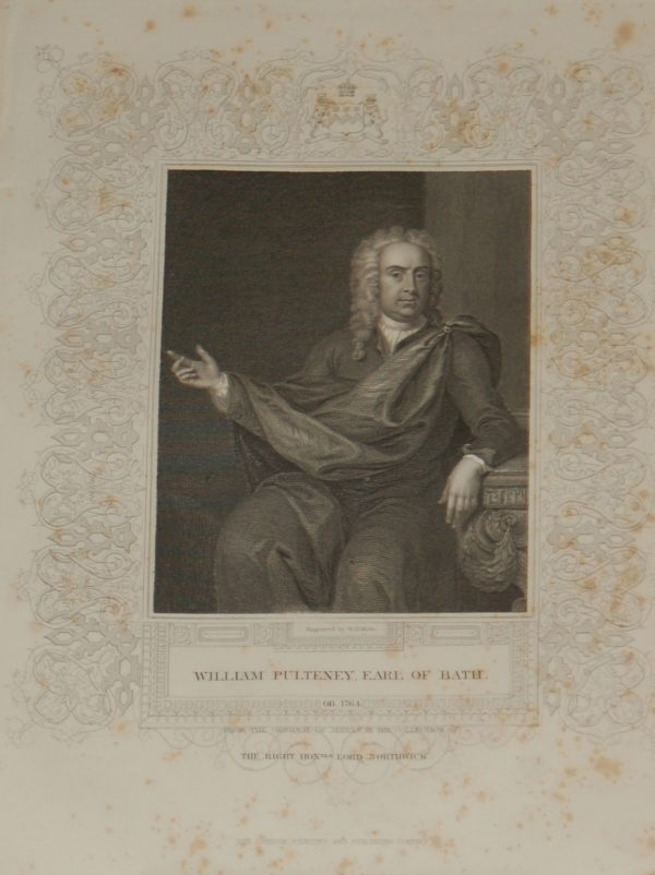 Earl of Bath antique print for sale at antico.gallery