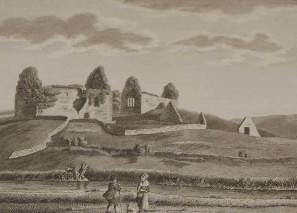 1797 Antique Print Ruins Fenaugh County Leitrim