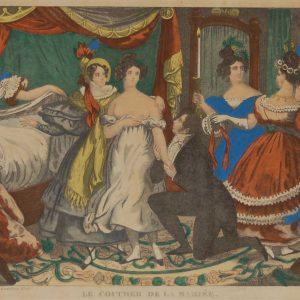 Vintage French Art Print 1944