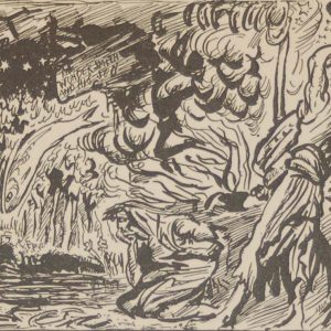 Jack B Yeats The Young Smith Went To The Bellows 1933 published by The Macmillan Company in New York.
